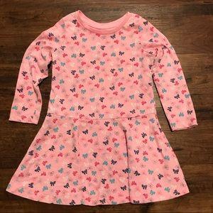 3T Gap Cotton LS Dress